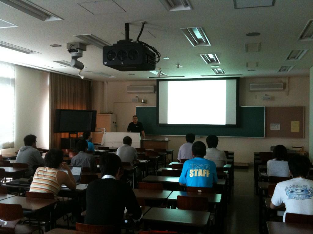 セミナー風景(OSC2011 Hiroshima)