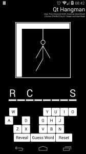 Qt Hangman Screenshot
