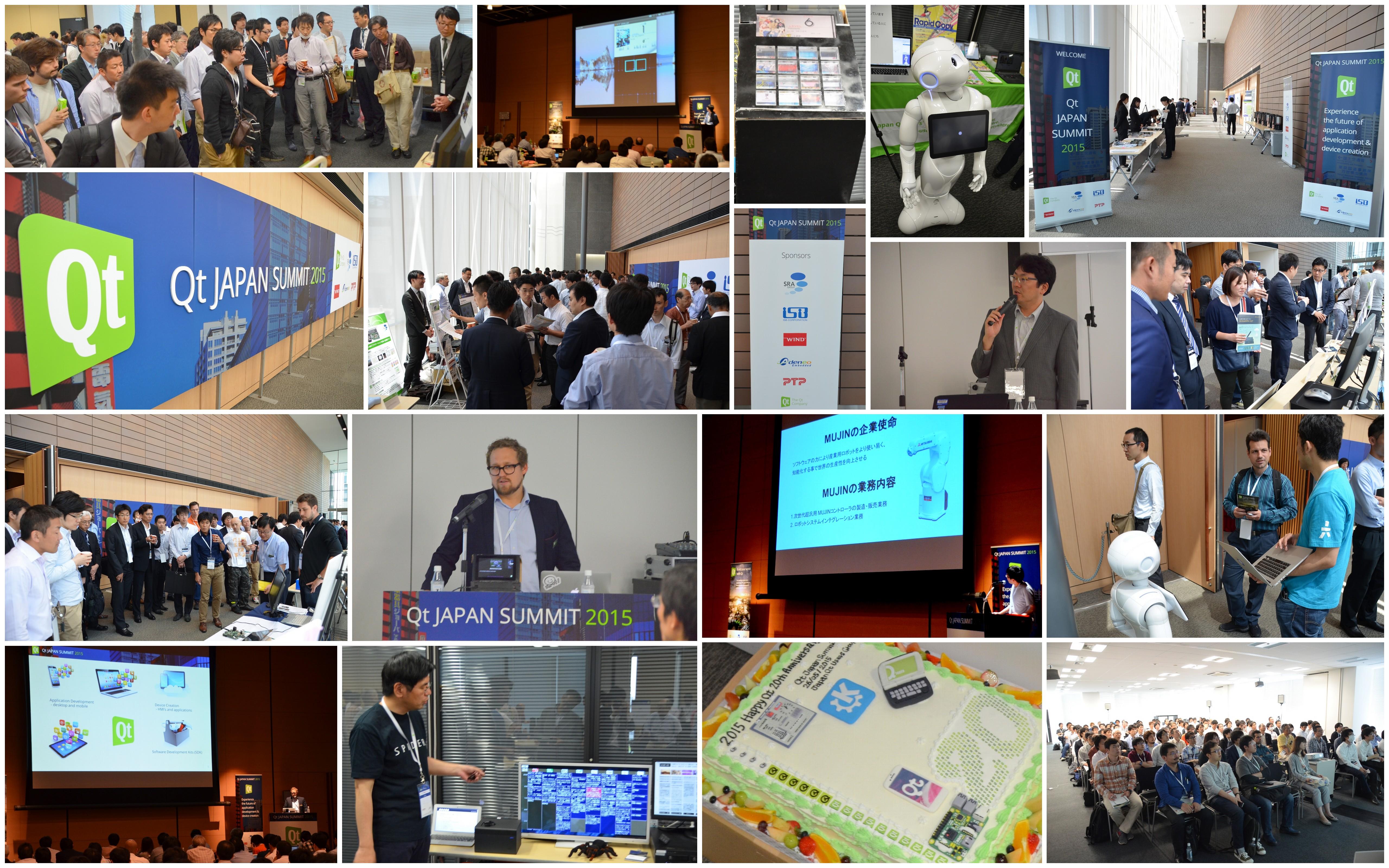 Qt JAPAN SUMMIT Breakout collage