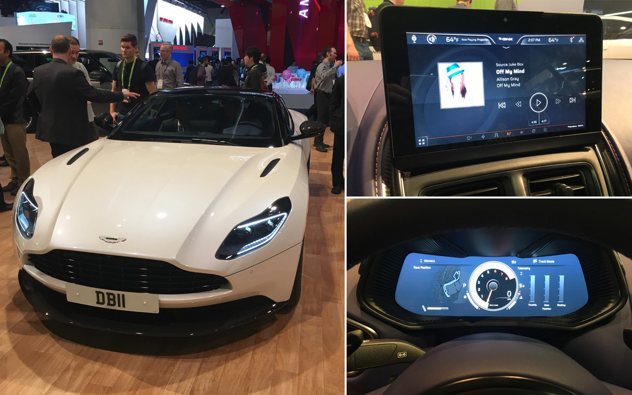 QNX Aston Marting