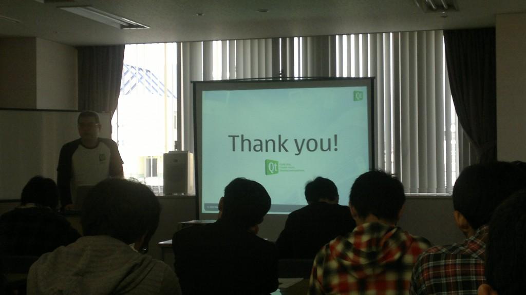 OSC2011 Kansai@Kobe: Qt セミナーの風景