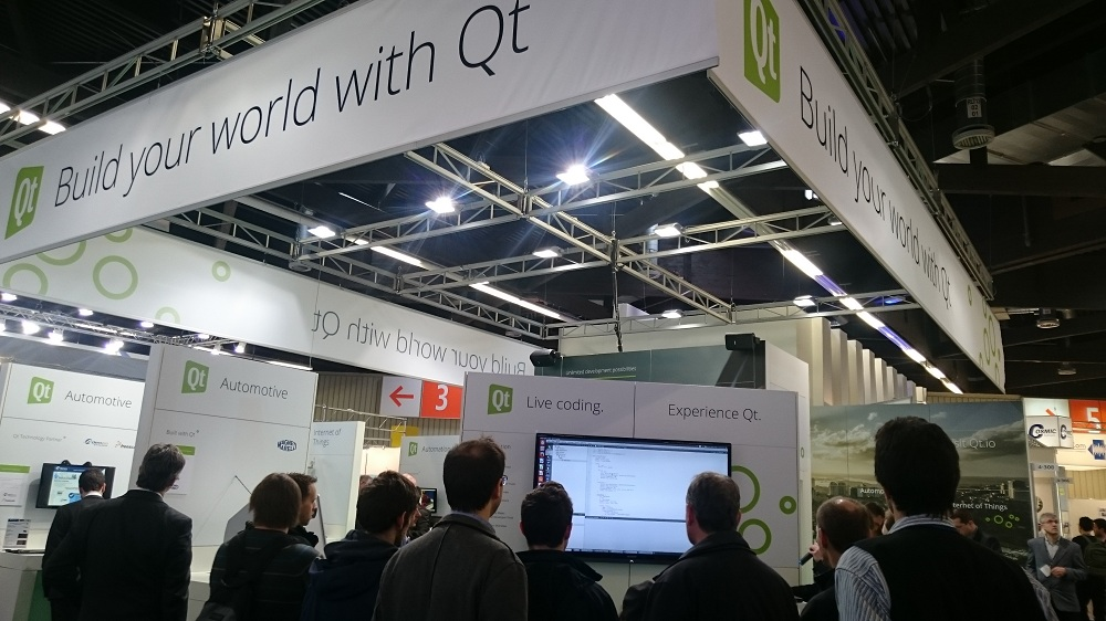 Live coding theater - Qt Embedded World 2015