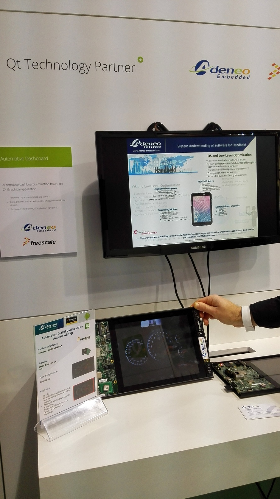 Automotive - Qt Partner Adeneo Embedded