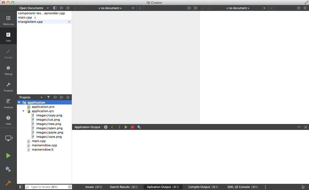 Qt Creator flat style UI design + new Light theme - Qt Blog