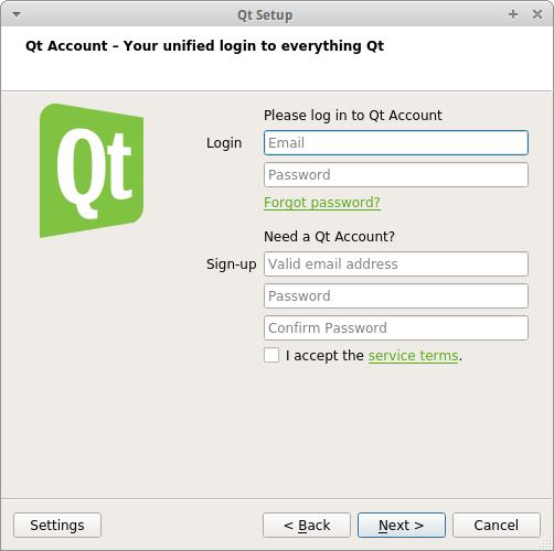 Qt Online Installer Update Released with Optional Qt Account Sign-In