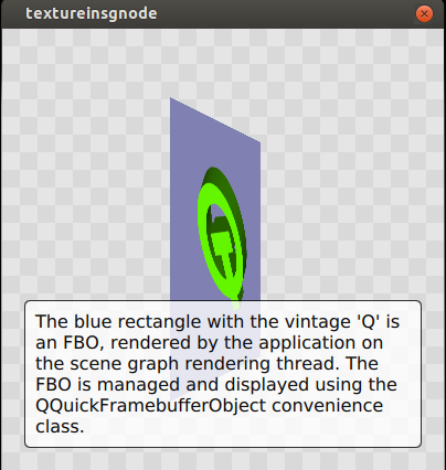 Integrating custom OpenGL rendering with Qt Quick via