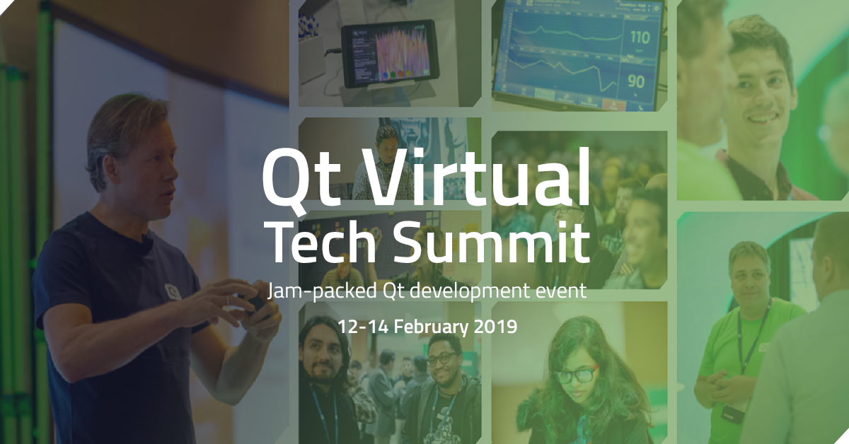 Qt Virtual Tech Summit - Free online Qt event on 12-14 February